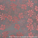 Tela del telar jacquar del poliester para la alineación de la ropa de la manera (JVP6346A)