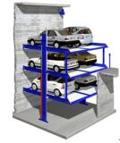 Lift de van uitstekende kwaliteit van het Parkeren in Kuil voor Twee Auto's