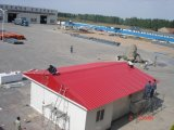 Low Cost Commerical Construction Designing Steel Prefab Structure House