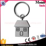 卸し売り高品質の安いカスタム金属の家Keychain
