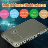 Репроектор DLP портативным миниым данным по луча СИД TV Projetor видео- WiFi Beamer Android Pico полным HD репроектора карманный
