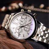 Конструкция людей вахты дела Wristwatch способа H271-S Yazole роскошная с синим стеклом
