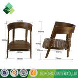 Indische Art-hölzerner runde Rückseiten-Stuhl für Wohnzimmer (ZSC-45)