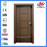Нутряные деревянные двери Veneer конструкции ванной комнаты (JHK-FC03)
