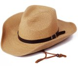 浜の帽子浜の日曜日のわらSunhat