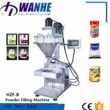 Remplissage remplissant de poudre de foreuse de Hzf-B de médecine semi-automatique de lait avec le peseur
