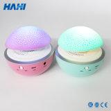 Hongo atómico agrietado, lámpara luminosa colorida, altavoz de Bluetooth