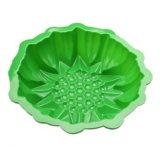 2017の新製品の熱い販売の花の形のシリコーンのケーキ型