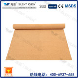 Rouleau de liège pour sous-couche, isolation acoustique pour système de plancher surélevé