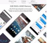 OS Android 6.0 ROM RAM 16GB сердечника 3GB Octa металла Ulefone цвет золота телефона 5 дюймов франтовской