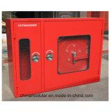 Шкаф пожара для вьюрка огнетушителя и шланга