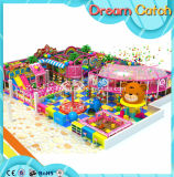 Спортивная площадка детей цветастая крытая для зрелищности детей