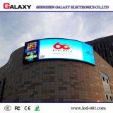 (P4, P6, P8, P16) instalación rápida P10 de la pantalla al aire libre del RGB LED para hacer publicidad