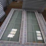 PVC戸枠のプロフィールのガラスドアおよび映像