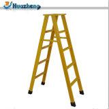 軽量の卸売FRPのFoldable絶縁のガラス繊維のステップ梯子