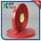 el doble de la cinta 4910 de los 3m Vhb echó a un lado con el pegamento claro