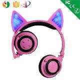 새로운 작성 귀여운 디자인 무선 Bluetooth 헤드폰