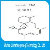 GMP 99% isotretinoína CAS 4759-48-2 API para el tratamiento del acné severo