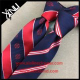 Lazo hecho a mano de la insignia del 100% Silk Jacquard Woven Men Company