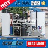 Icesta luftgekühlte Flocken-Eis-Maschine für das Frisch-Halten
