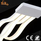 現代カーブ装飾的なLEDハングランプの照明ペンダントライト
