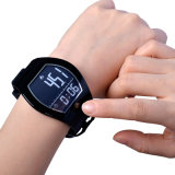 Reloj elegante del deporte al aire libre de la visualización de la E-Tinta de Bluetooth del podómetro de la aptitud W194
