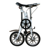 Folding Bicycle / Carbon Steel Single Speed ​​Bicicleta /