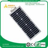 15W batterie à énergie solaire tout dans un éclairage routier de DEL