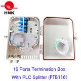 16 Kanal-Faser-Optikkabel-Endpunkt-Kasten (PTB116)