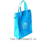 Blau-nicht gesponnene Einkaufstasche mit Drucken