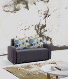 ボックスが付いている居間の小さいソファー
