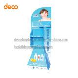 Kosmetischer Papierbildschirmanzeige-Pappausstellungsstand, Bildschirmanzeige-Regal