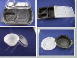 Pp. Pet freies Wegwerfmaschinenhälften-Blasen-Frucht-Nahrungsmittelpaket-Tellersegment