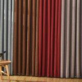 Tenda di finestra solida di mancanza di corrente elettrica del poliestere di stile della tessile moderna della casa