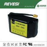 paquete 5c de la batería del ion de 36V 5ah Li para la vespa