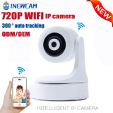 appareil-photo de rail automatique d'IP du WiFi 720p pour le contrôle de bébé/animaux familiers