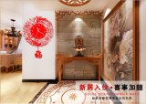 Индикация часов стены способа часов подарка Китая акриловая