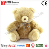 Brinquedos macios do luxuoso do urso da peluche para o bebê
