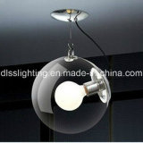 2017wholesale Price Modern Round Glass Ceiling Lamp for Indoor Decoration
