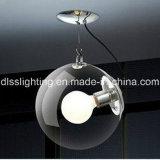 2017wholesale 가격 실내 훈장을%s 현대 둥근 유리제 천장 램프