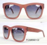Ce classique unisexe direct d'importation de la Chine 2015 lunettes de soleil d'Européen d'acétate de mode