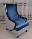 대중적인 디자인 호텔을%s 우아한 분쇄된 우단 Wingback 의자