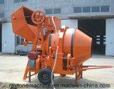 Mobile Dieselbetonmischer-Mischmaschine