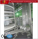 Congélateur spiralé simple de certificat de la CE avec le compresseur IQF