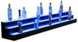 De Vertoning van de acryl LEIDENE Fles van de Wijn, de Plank van de Vertoning van de LEIDENE Fles van de Alcoholische drank
