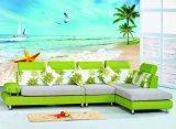 Peinture à l'huile estampée UV de bord de la mer pour la décoration à la maison