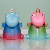 다채로운 Unicorn 모형 질퍽한 PU 아이들의 장난감