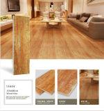 Teja del interior revestimiento de madera aspecto de fábrica (AJ604)