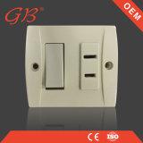 Interruptor de la pared y socket de pared eléctricos de la baquelita del socket