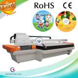 Impressora UV de China Flatebed para o vidro plástico de couro do alumínio do metal